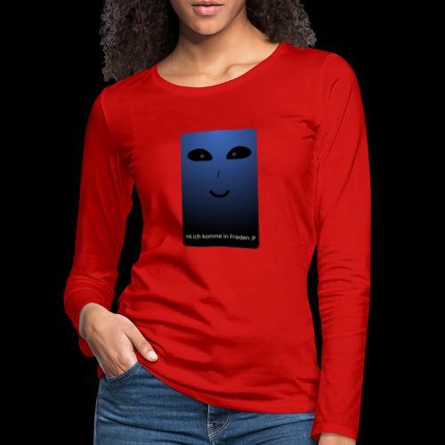 Frieden - Frauen Premium Langarmshirt
