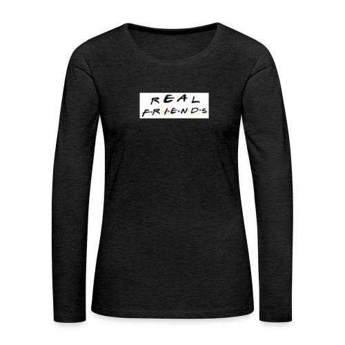 Real freinds - Dame premium T-shirt med lange ærmer