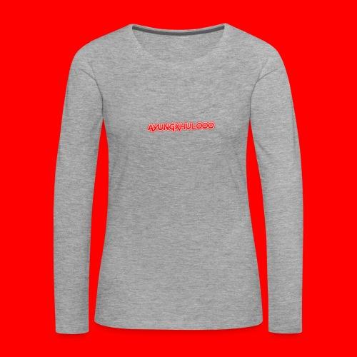AYungXhulooo - Neon Redd - Women's Premium Longsleeve Shirt