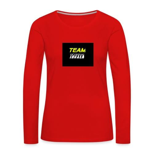 Truxenmerch - Långärmad premium-T-shirt dam