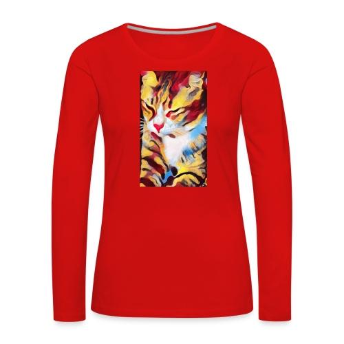 Streetcat Honey - Frauen Premium Langarmshirt