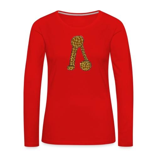 Pacheco Girafa - Women's Premium Longsleeve Shirt