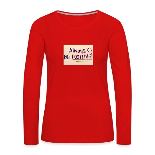 Bamse - Dame premium T-shirt med lange ærmer