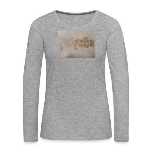 Simon Psycho Artist - Vrouwen Premium shirt met lange mouwen