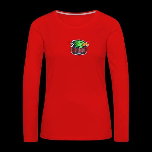 Sektion9 Logo Grün - Frauen Premium Langarmshirt