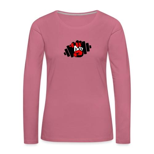ANTONIO MESSINA ANTOFIT93 - Maglietta Premium a manica lunga da donna