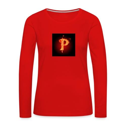 Power player nuovo logo - Maglietta Premium a manica lunga da donna