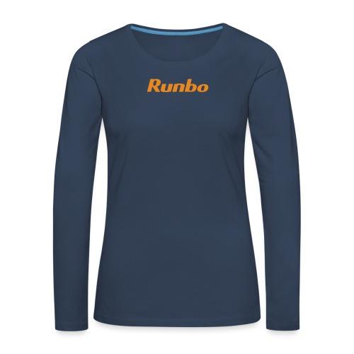 Runbo brand design - Women's Premium Longsleeve Shirt