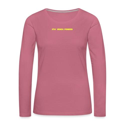 UVSMF - Maglietta Premium a manica lunga da donna