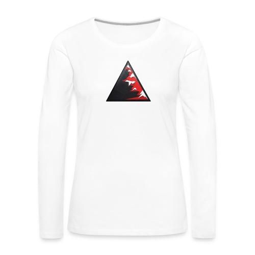 Climb high as a mountains to achieve high - Women's Premium Longsleeve Shirt
