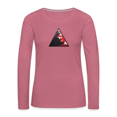 Climb high as a mountains to achieve high - Women's Premium Longsleeve Shirt