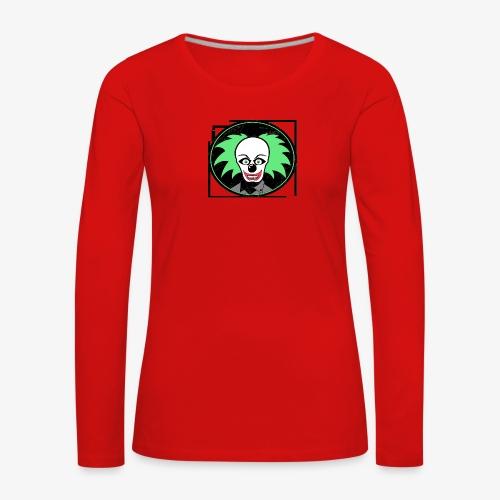 payaso 3001 - Naisten premium pitkähihainen t-paita