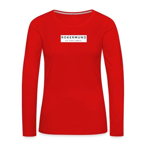 Rokermund - Maglietta Premium a manica lunga da donna