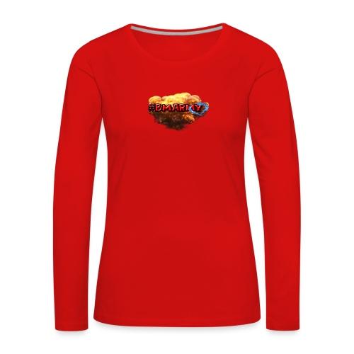 Pixelbmshop123123 - Långärmad premium-T-shirt dam