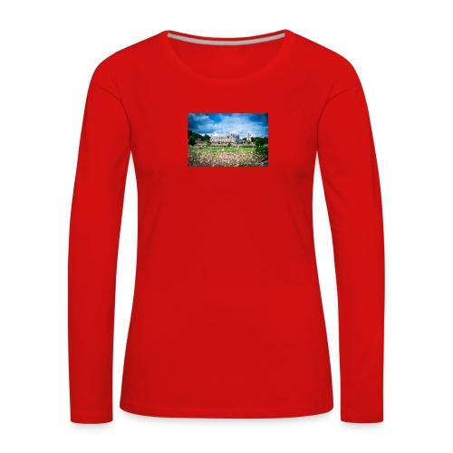 Barbara Mapelli - Castello di Chenonceau, Francia - Maglietta Premium a manica lunga da donna