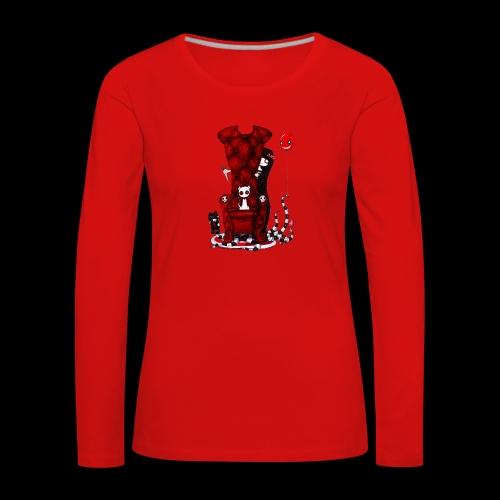 Cruelle petite fille - T-shirt manches longues Premium Femme