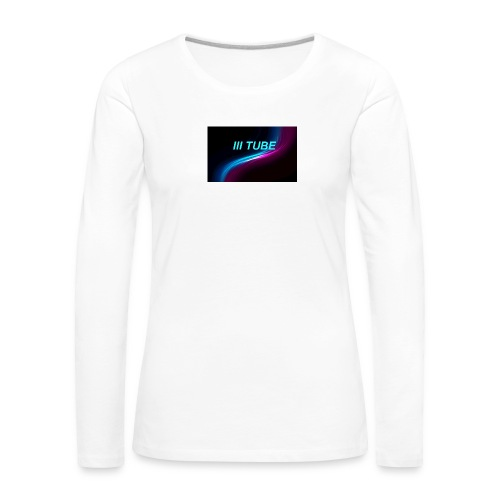 logo - Vrouwen Premium shirt met lange mouwen