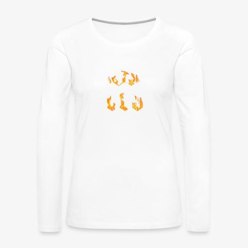 CLG DESIGN - T-shirt manches longues Premium Femme