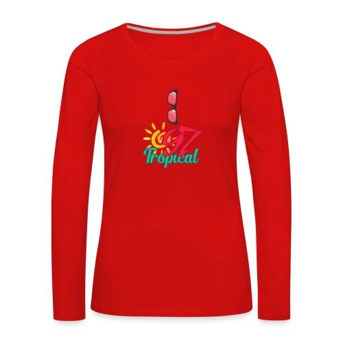 A01 4 - T-shirt manches longues Premium Femme