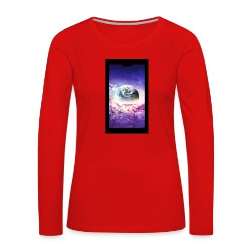 Univers - T-shirt manches longues Premium Femme