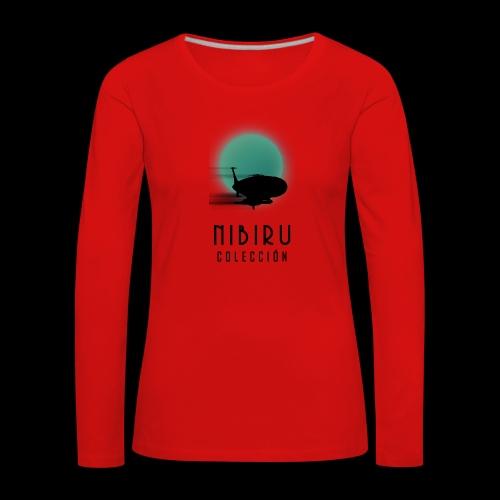 NibiruLogo - Camiseta de manga larga premium mujer