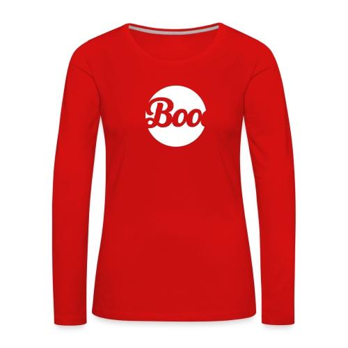 Boo - Women's Premium Longsleeve Shirt