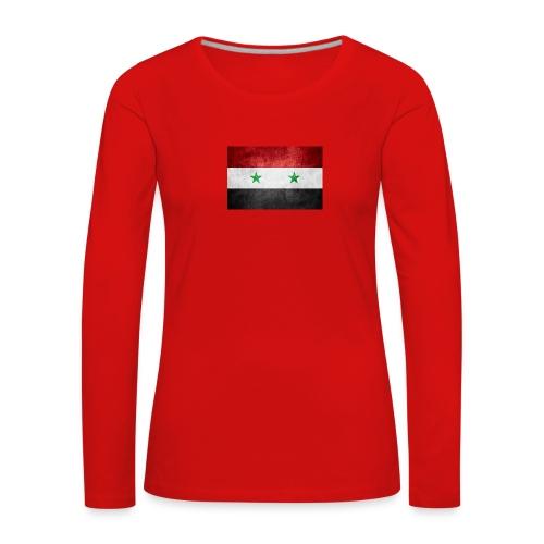 Syrien - Frauen Premium Langarmshirt