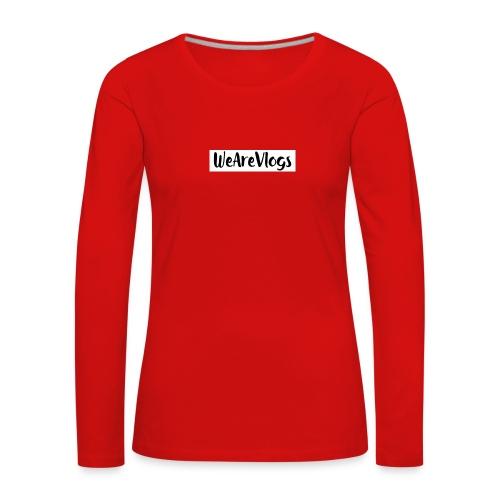 WeAreVlogs - Women's Premium Longsleeve Shirt