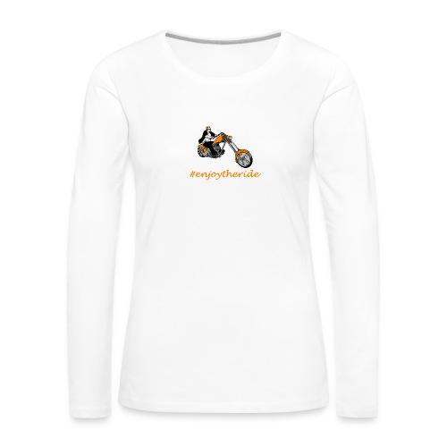 enjoytheride - T-shirt manches longues Premium Femme