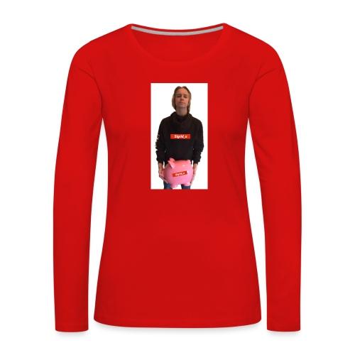 Sigrid_uPhotoTee - Premium langermet T-skjorte for kvinner
