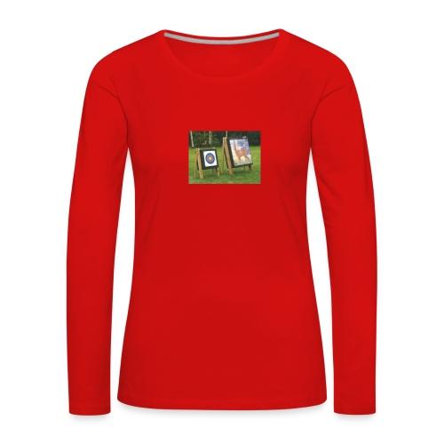 7EE4ABA5 03CC 4458 8D34 B019DF4DD5F1 - Premium langermet T-skjorte for kvinner