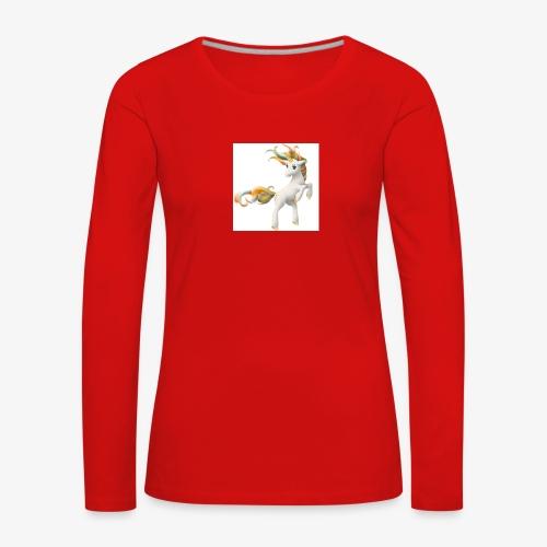 Love Unicorn - Frauen Premium Langarmshirt