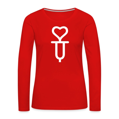 ADDICTED TO LOVE - Women's Premium Longsleeve Shirt
