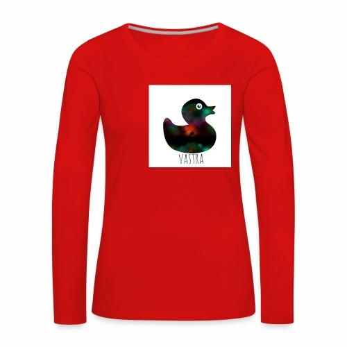 canard - T-shirt manches longues Premium Femme