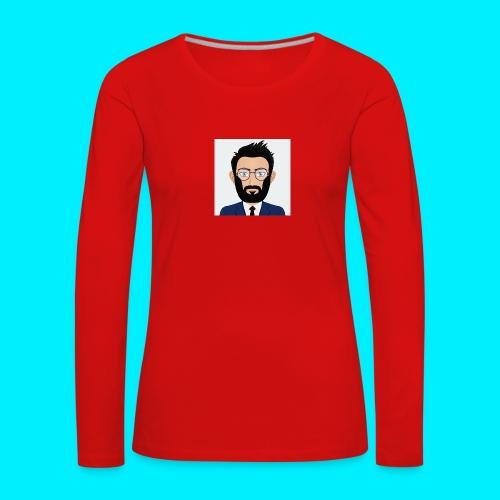 Daboy Cartoony - Vrouwen Premium shirt met lange mouwen
