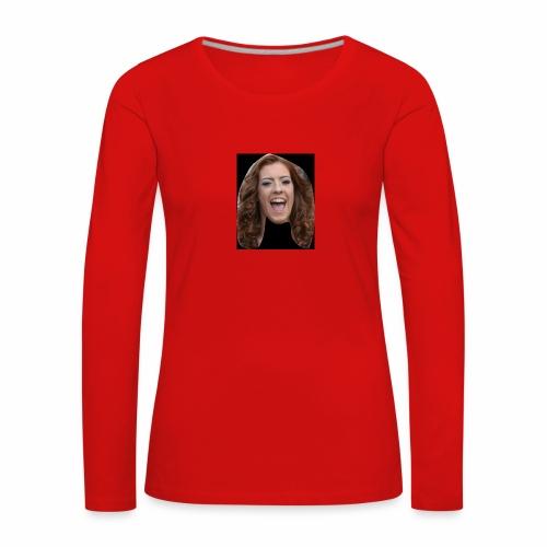 HMS Face - Women's Premium Longsleeve Shirt