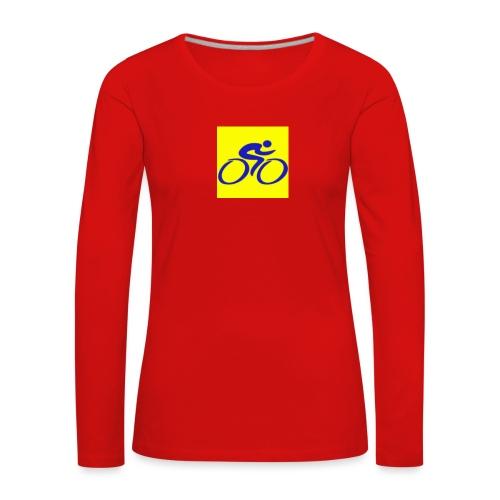 Tour de Epe Logo 2017 2018 1 png - Vrouwen Premium shirt met lange mouwen