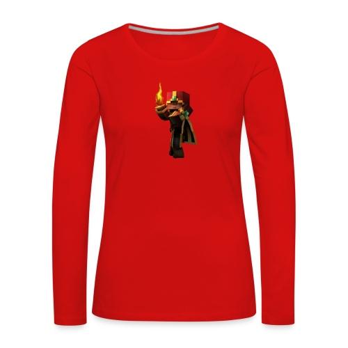 Musmatta - Långärmad premium-T-shirt dam