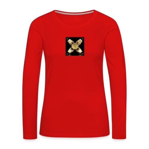 Spinneri paita - Naisten premium pitkähihainen t-paita