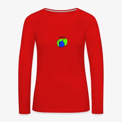 aiga cashier - Dame premium T-shirt med lange ærmer