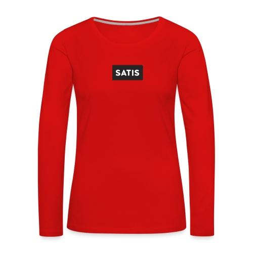 satis - T-shirt manches longues Premium Femme