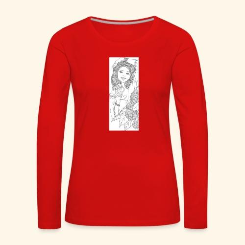 230120170945 - Maglietta Premium a manica lunga da donna