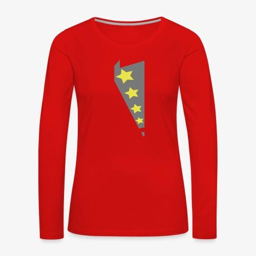 dessin - T-shirt manches longues Premium Femme