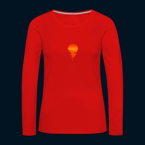 Weltuntergang - Maglietta Premium a manica lunga da donna