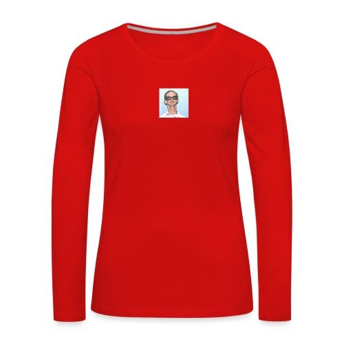 MY DAD - Premium langermet T-skjorte for kvinner