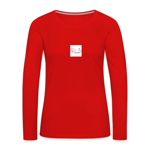 Romane - T-shirt manches longues Premium Femme