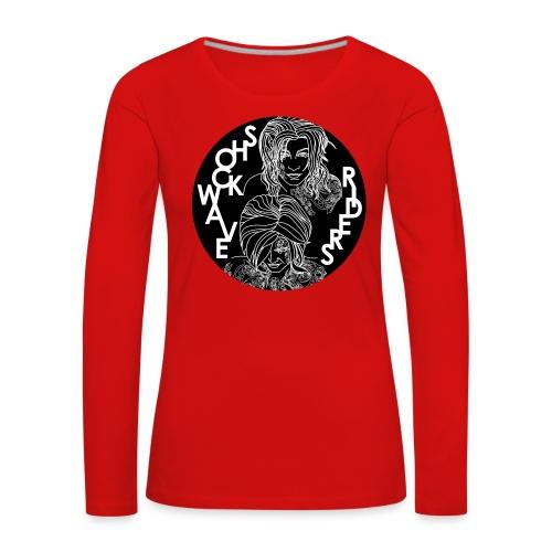 Shockwave Riders - Frauen Premium Langarmshirt