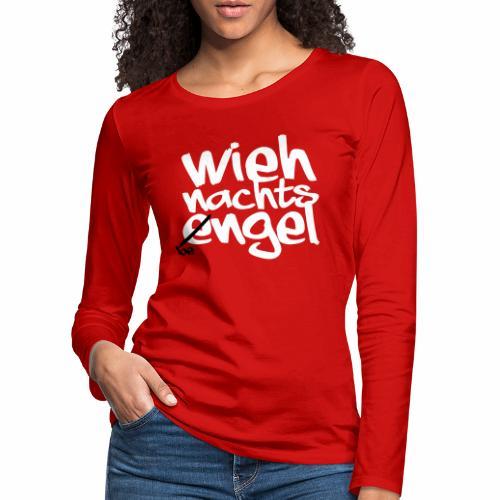 Wiehnachts-Bengel - norddeutsche Weihnachten - Frauen Premium Langarmshirt