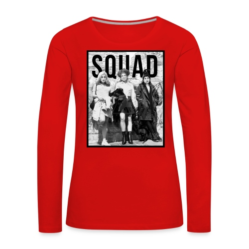 Squad witches halloween shirt - Women's Premium Longsleeve Shirt