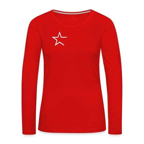 Team Kleding - Vrouwen Premium shirt met lange mouwen